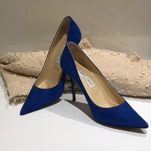 Jimmy Choo ANOUK Indigo Blue pumps